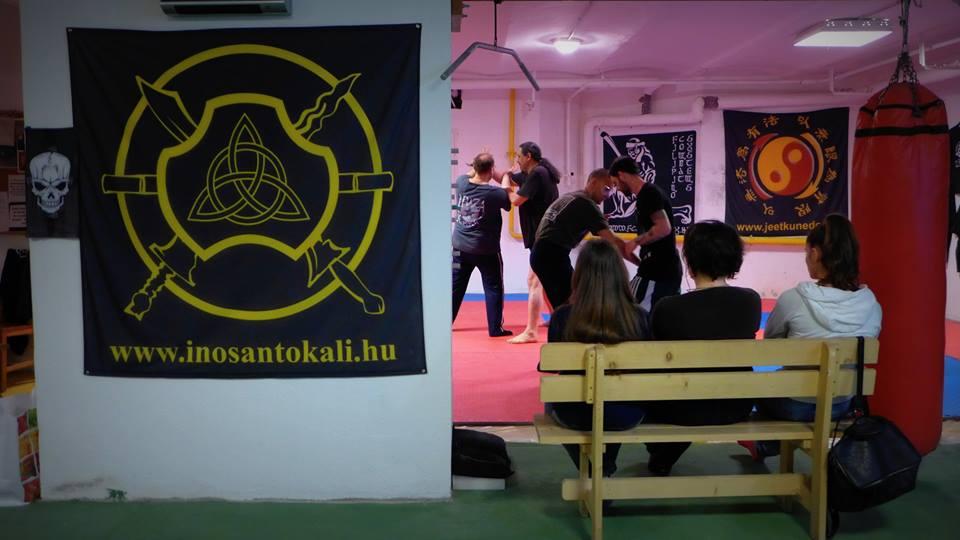 Kali/Silat edzés, panantukan, JDK, eskrima botharc, la coste késharc, önvédelem