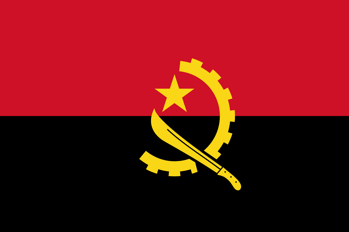 Angola nemzeti zászlaja
